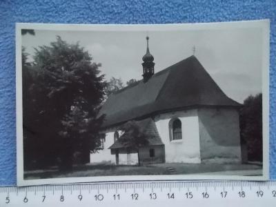 Vsetín Valašsko Valašské Meziříčí Krásno nad Bečvou kostel sv. Jakuba