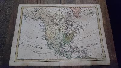 Stará mapa Schreibers Erben