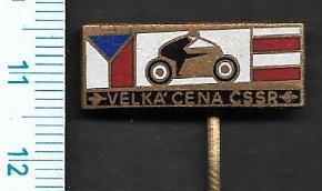 Sport motorismus - Velká cena ČSSR smalt /FA-S°27