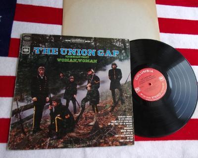 ► LP: GARY PUCKETT & THE UNION GAP - WOMAN, WOMAN skoro nová, USA 1968