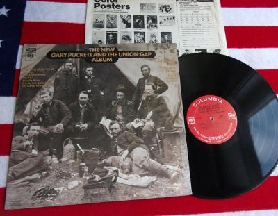 ► LP: GARY PUCKETT & THE UNION GAP - ... THE NEW ALBUM, EX++, USA 1969