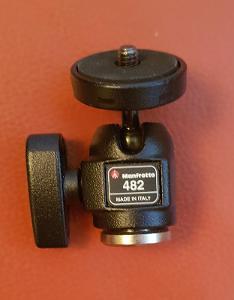Manfrotto kulová hlava Micro 482, 100% stav