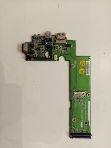 Spínací/USB/modem/zvuk deska pochází z BRAVE NoteLine 715 *565
