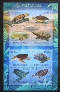 Mosambik 2012 Želvy Mi# Mi# 5665-72 Kat 16€ 1797