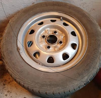 3 Ks letních pneumatik Barum Brillantis 2  165/70 R13