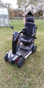Elektrická invalidní čtyřkolka