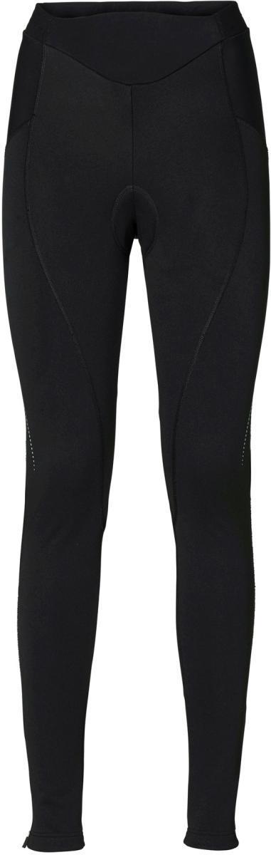 Dámské cyklistické kalhoty Vaude Women's Advanced Warm Pants II - blac