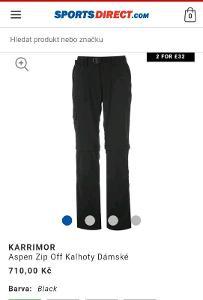 Damske Karrimor Aspen Convertible Trousers 2xl/3xl