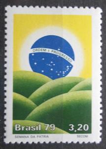 Brazílie 1979 Týden vlastenectví Mi# Mi# 1721 0319
