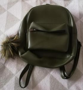 Koženkový batoh