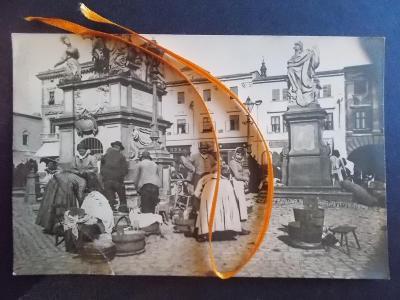 Brno Starý Vyškov Sýr Tvarůžky trh trhovci prodej super fotkáč