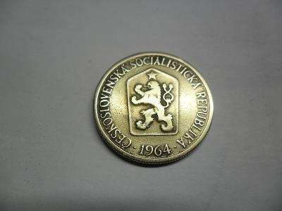 1Koruna 1964 Lepší ročník.! Mince je pěkná.