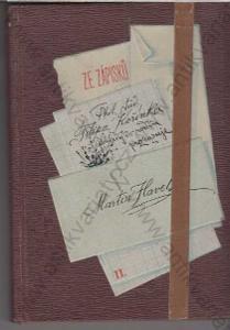 Ze zápisků Phil. stud. Filipa Kořínka 1893,1894