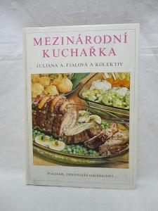 Mezinárodní Kuchařka -recepty z celého světa- knihy v aukci !