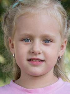 Krásné dívčí naušnice S925