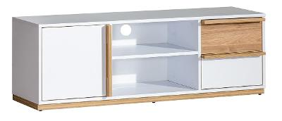 Levná hezká moderní komoda tv stolek EVADO E4 /doprava zdarma