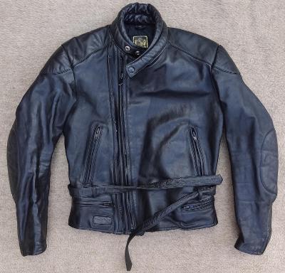 pánská kožená motorkářská bunda iXS vel. M/48 #675
