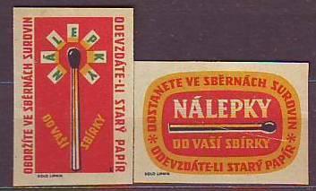 České ZN po r.1945 k.č.1440, 1442