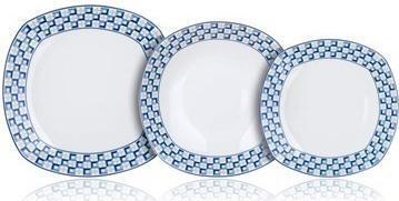 18D sada talířů Banquet LOUNGE - Nekompletní