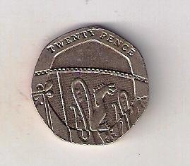 Velká Británie 20 Pence 2011