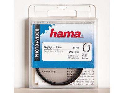 Hama skylight filtr 1A 49 mm