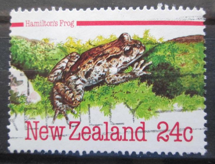 Nový Zéland 1984 Leiopelma Hamiltonova Mi# Mi# 901 0347 - Filatelie