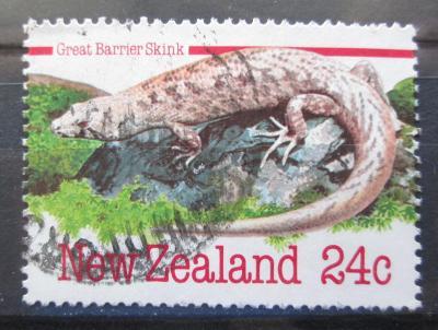 Nový Zéland 1984 Leiolopisma homolanotum Mi# Mi# 902 0347