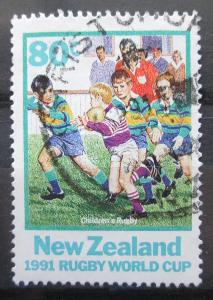 Nový Zéland 1991 Rugby Mi# Mi# 1197 0352