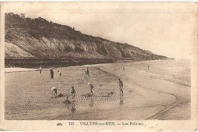 VILLERS-sur-MER - Normandie - Francie