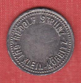 Chmelová známka Malé Krhovice - 10 věrtelů