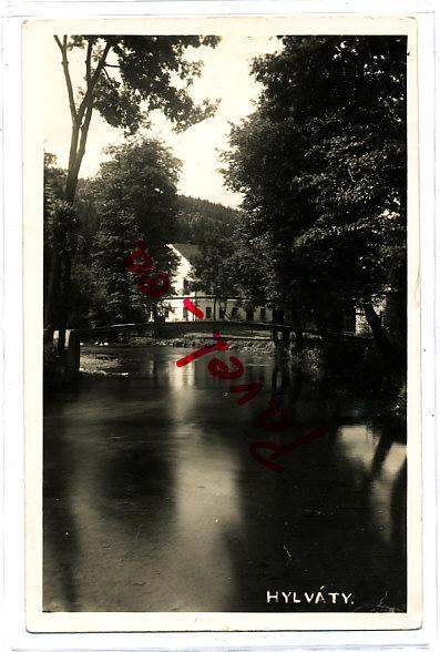 Hylváty most 1933 foto Slezák Česká Třebová Ústí nad Orlicí 2553