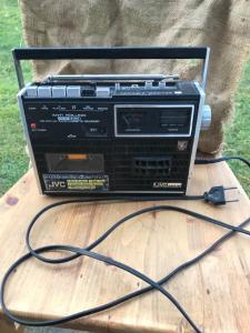 Radio Cassette Recorder JVC Japan !!!