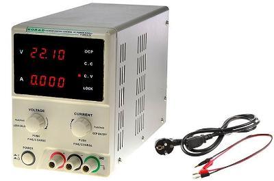 Laboratorní zdroj KD6005D KORAD 0 do 60V a 0-5A
