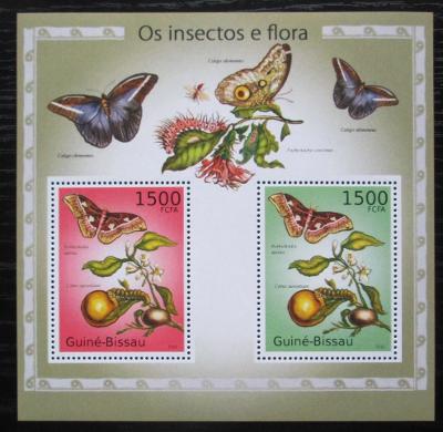 Guinea-Bissau 2010 Hmyz a flóra Mi# Block 874 Kat 12€ 1816