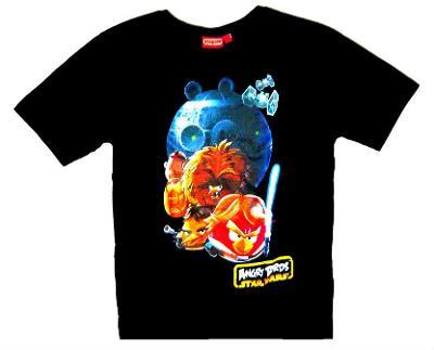 ANGRY BIRDS SW chlapecké tričko, vel. 9 - 10 let