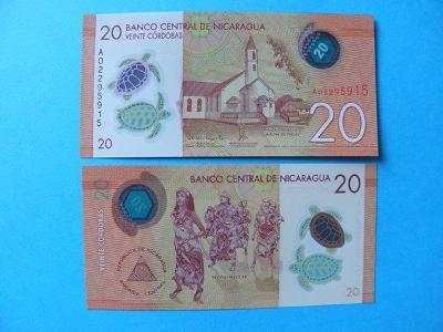 20 Cordobas 26.3.2014 Nicaragua - P210 - UNC - /R74/