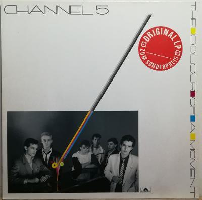 LP  Channel 5 - The Colour Of A Moment, 1985 EX