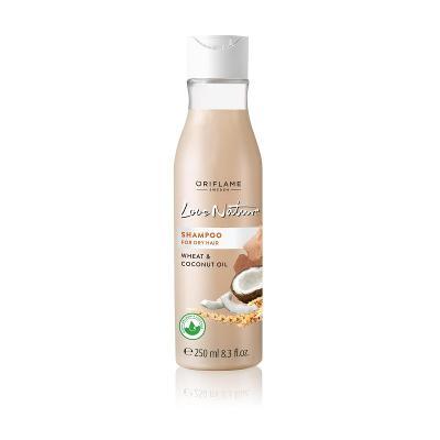 Šampon pro suché vlasy s pšenicí a kokosovým olejem Love Nature