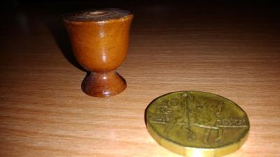 Dřevěný pohár