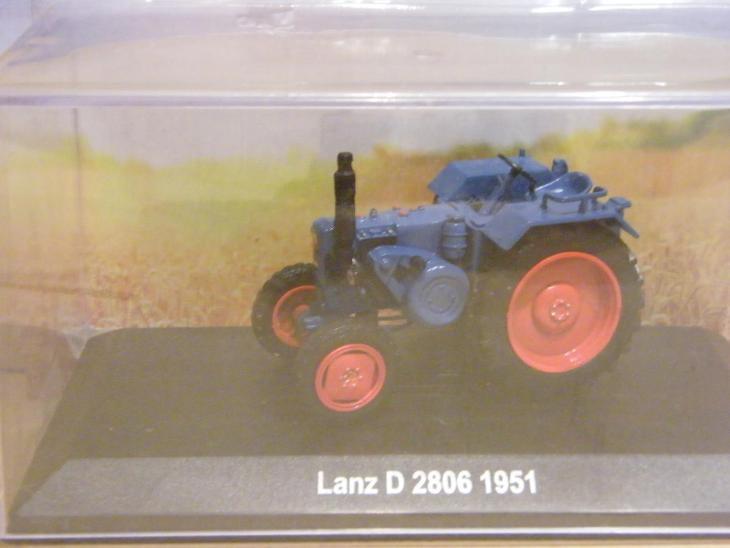 Atlas 1:43 Traktor Lanz D2806 1951