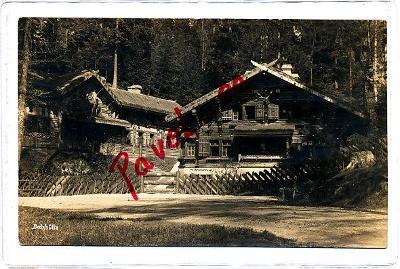 Na Tokáni chata 1927 Jetřichovice Chřibská Děčín 2619