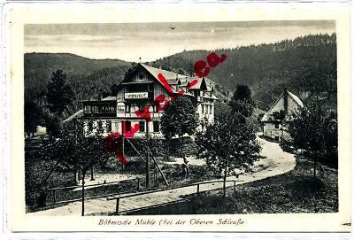 Zadní Doubice Český mlýn Jetřichovice Hřensko Chřibská Děčín 2623