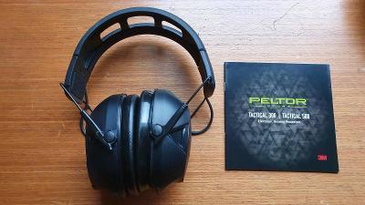 Elektronická ochranná sluchátka- Peltor Sport Tactical 500 - Bluetooth