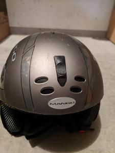 lyžařská helma pánská, 53-55