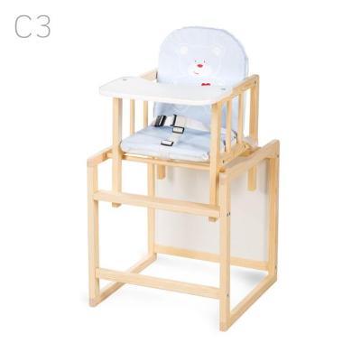 Jídelní židlička Klups Aga borovice krémová C3