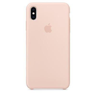 KrytApple Silicone Case pro iPhone Xs Max - pískově růžový (MTFD2ZM/A)
