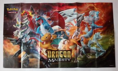 Originální plakát ke sběratelské karetní hře Pokémon