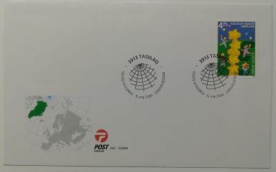 Europa 2000 - společné vydání s ČR - FDC Grónsko