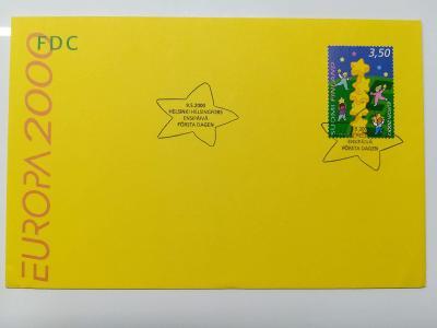 Europa 2000 - společné vydání s ČR - FDC Finsko