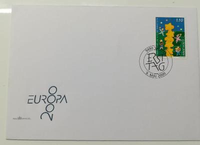 Europa 2000 - společné vydání s ČR - FDC Lichtenštejnsko